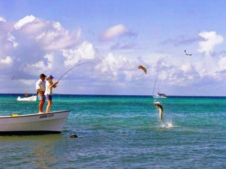 Fishing in Los Roques