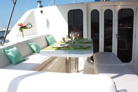 Onboard Catamaran Windspirit Caribe