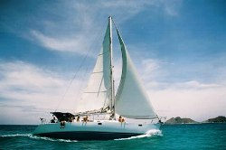 Sailboat Picasso in Los Roques