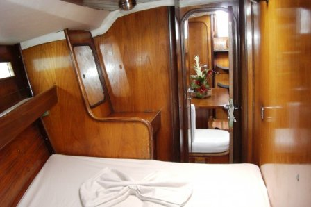 Cabin of the Sailboat Chaito Chaito